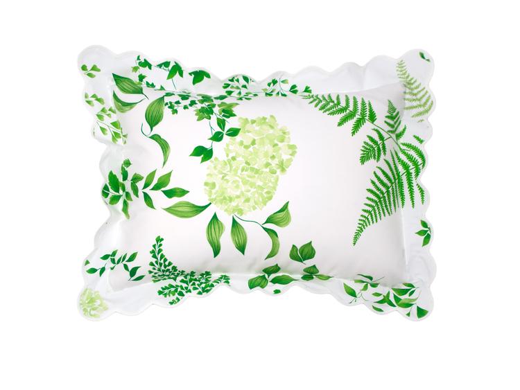 'Mariage' Pillow sham by D. Porthault