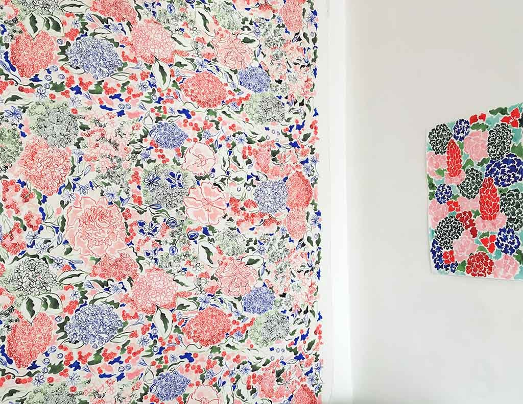 Claire de Quenetain Hortense Collection - The Annabelle Fabric