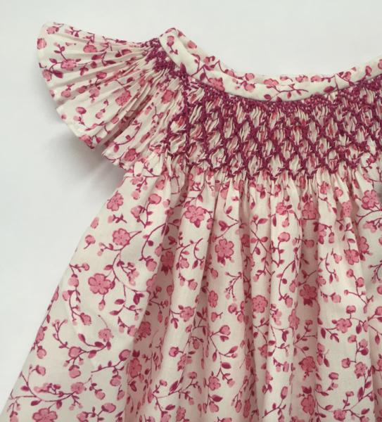 Hibiscus Linen's hand-smocked dresses