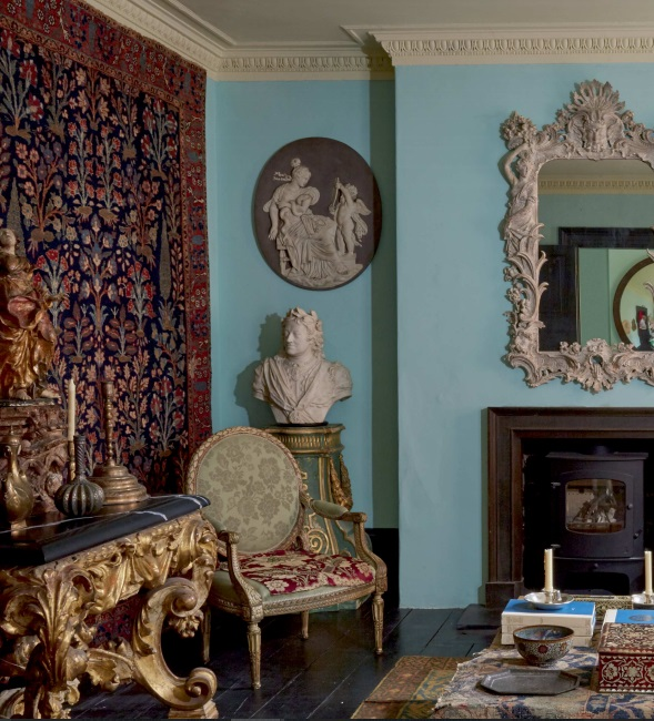 Howard Hodgkin's London home