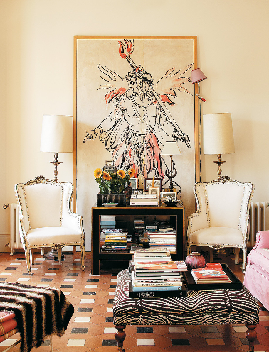 Carolina Herrera Jr.'s Madrid home
