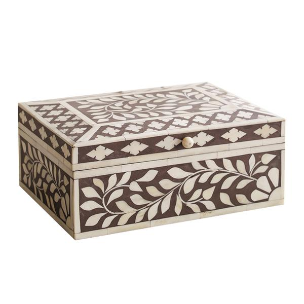 Floral Sun Inlay box - Wicklewood