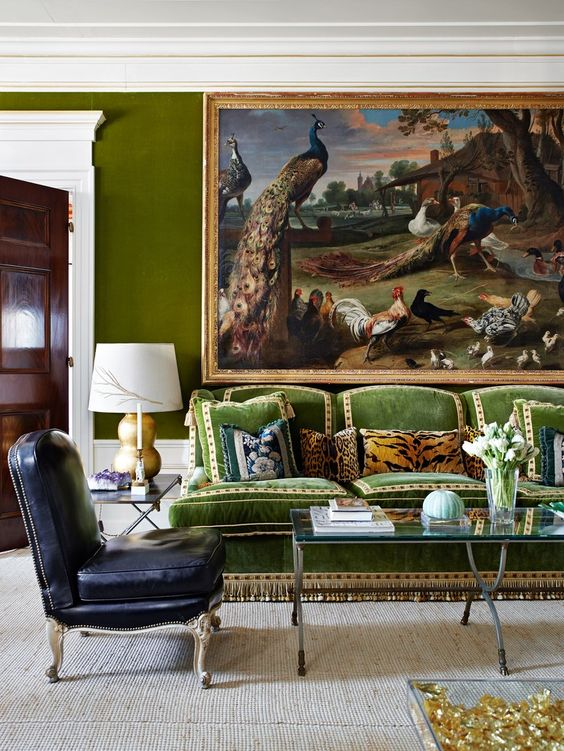 Tory Burch NYC Apartment. The sofa was designed as an homage to Hubert de Givenchy. Daniel Romualdez design