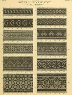 Coptic Embroidery