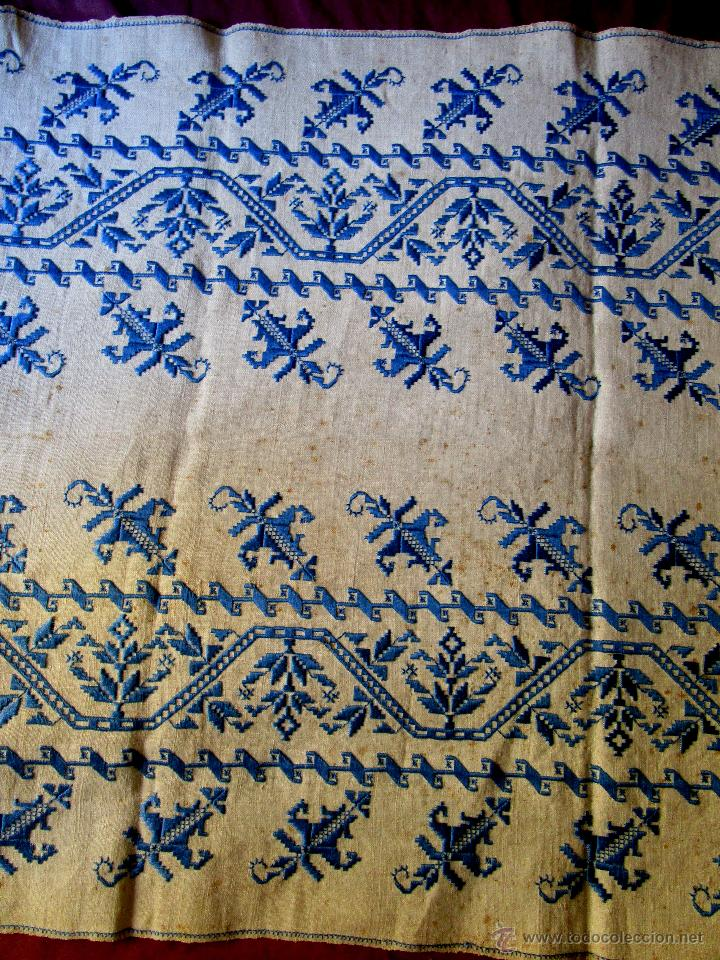 Antique Lagartera Embroidery
