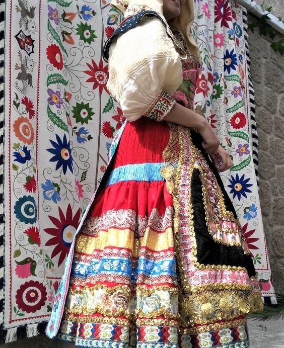 Corpus Christi in Lagartera. Popular Costume