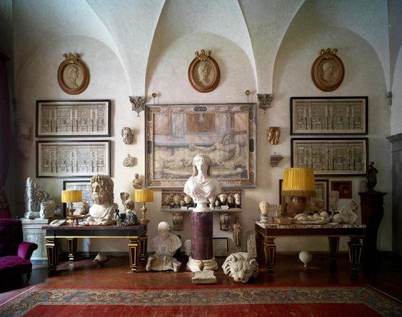 Massimo Listri's Florentine Palazzo