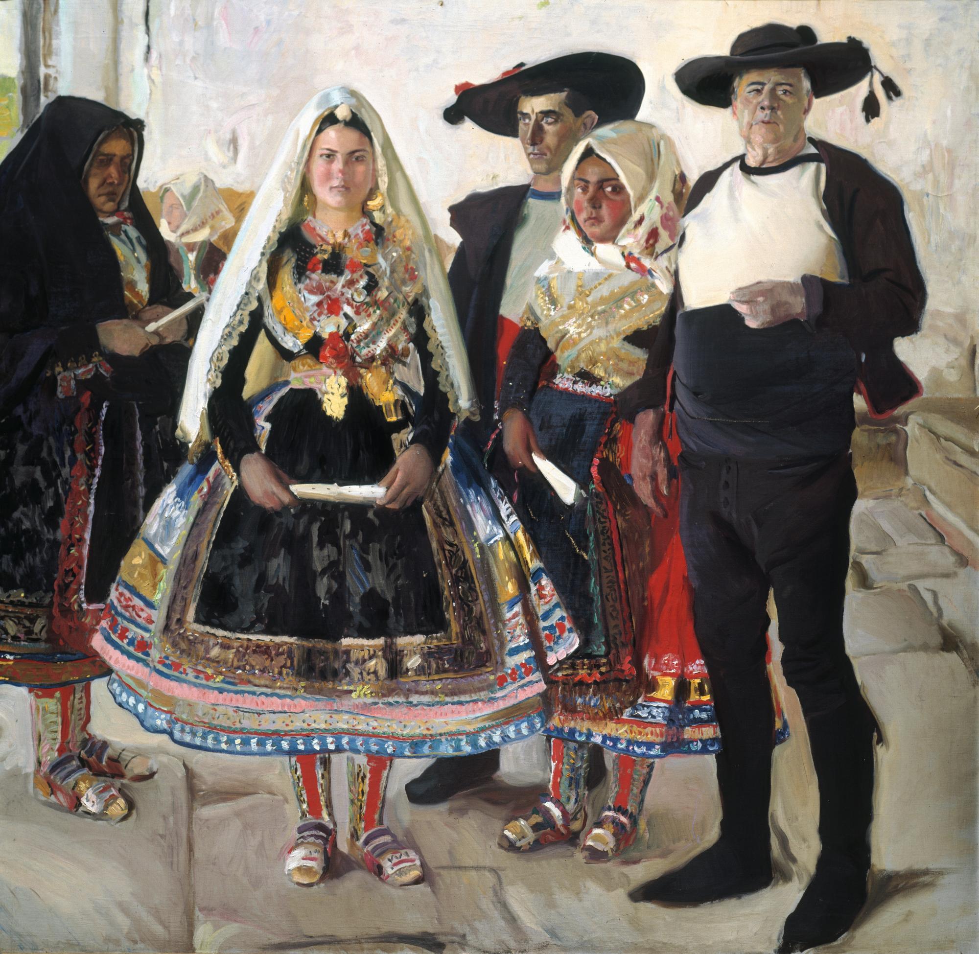 Lagartera Bride , Joaquin Sorolla , 1912