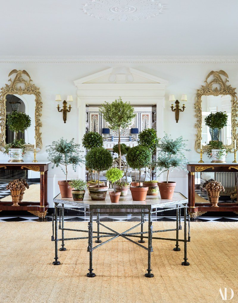 Tory Burch's Southampton home.