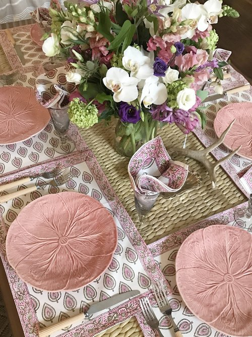 Printemps Placemat and Napkin Set - India Amory