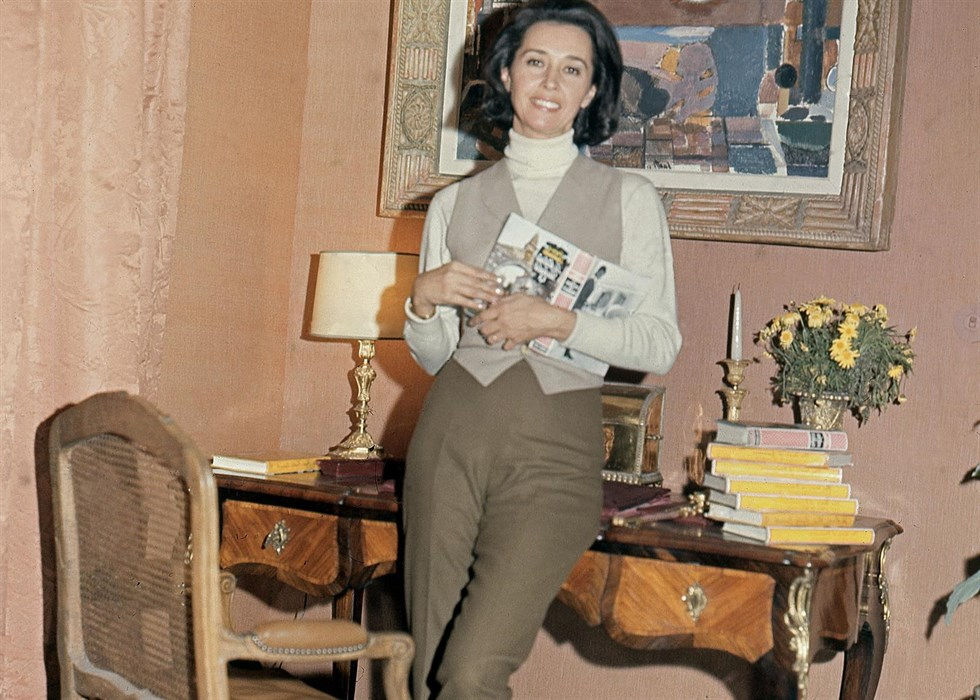 Countess of Romanones in her Madrid Flat