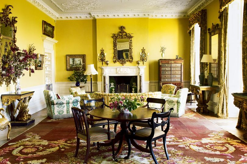 Faringdon House - the drawing room