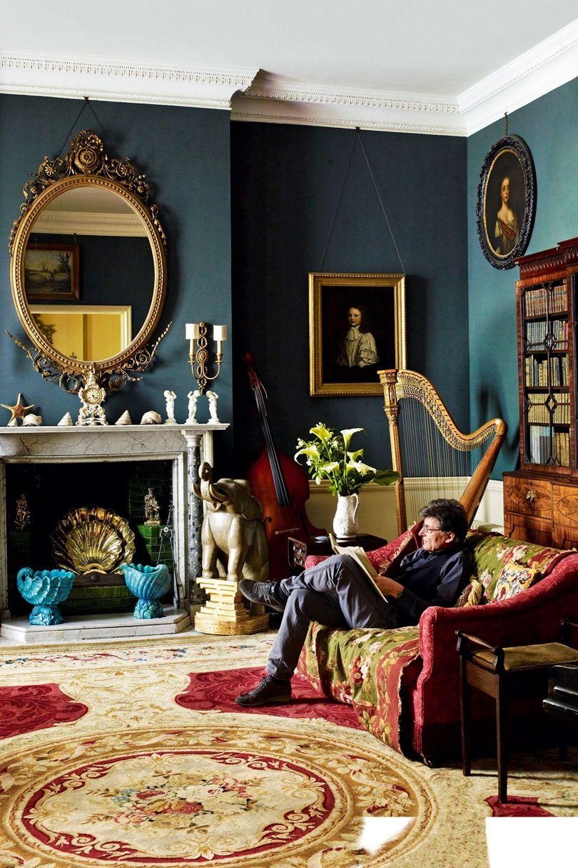 Faringdon House - the music room