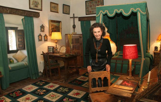 Aline Countess of Romanones. Finca Pascualete