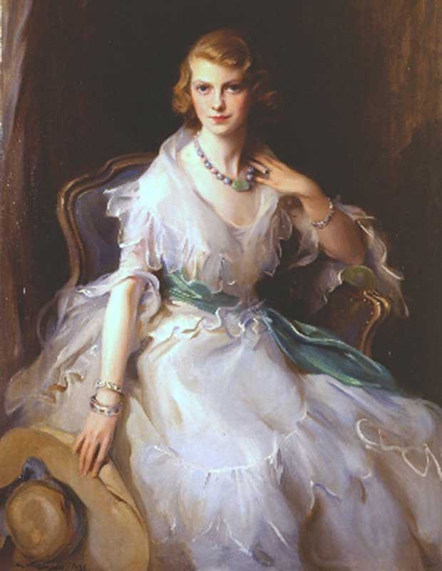 Portrait of Oonagh Guinness by Philip de László, 1931