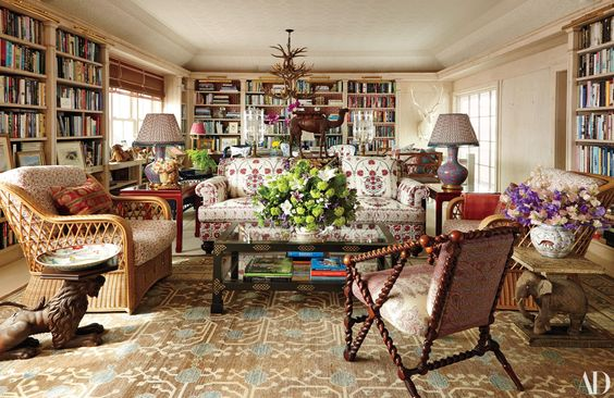 A pattern filled Long Island Home