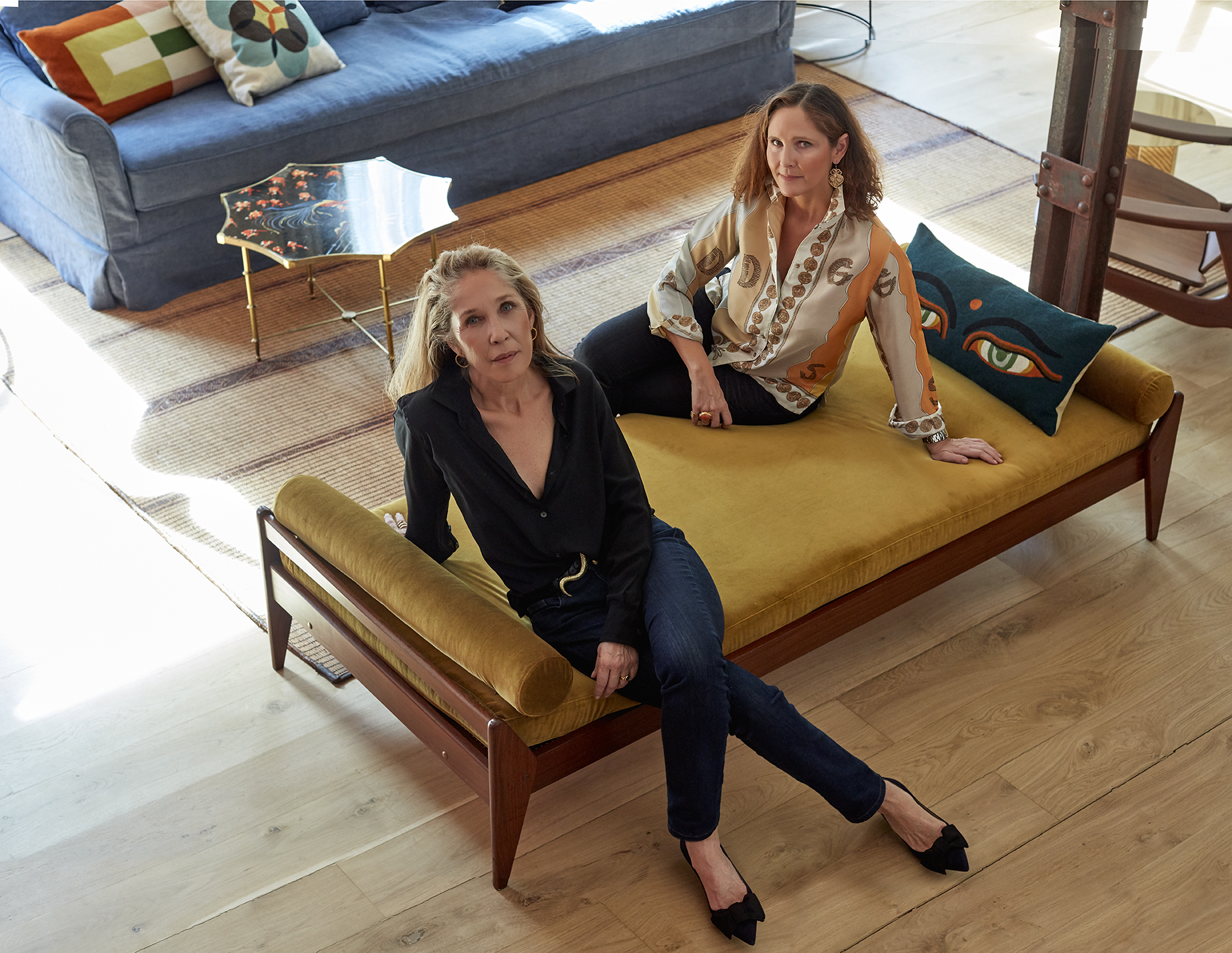 Sylvia and Victoria Melian Randolph, the sucessful interior design duo Melian Randolph | Directorio Deco by Gloria Gonzalez