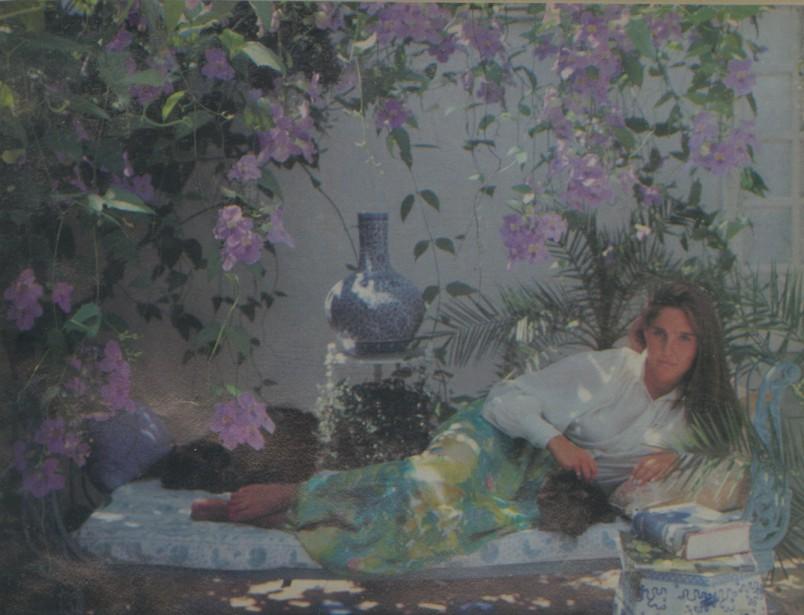 Sylvia Melian in Sotogrande photographed by Slim Aarons