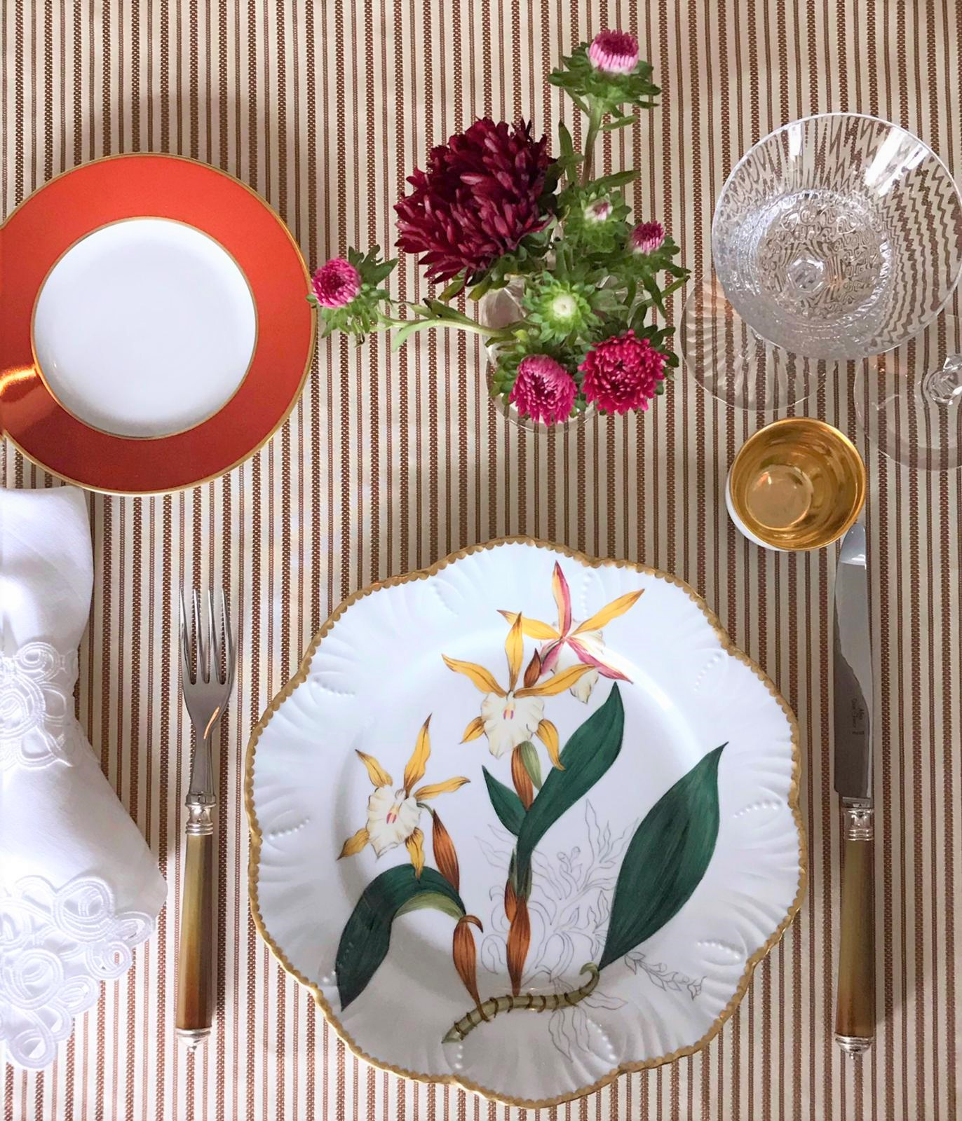 Gemma Martinez de Ana tablesetting