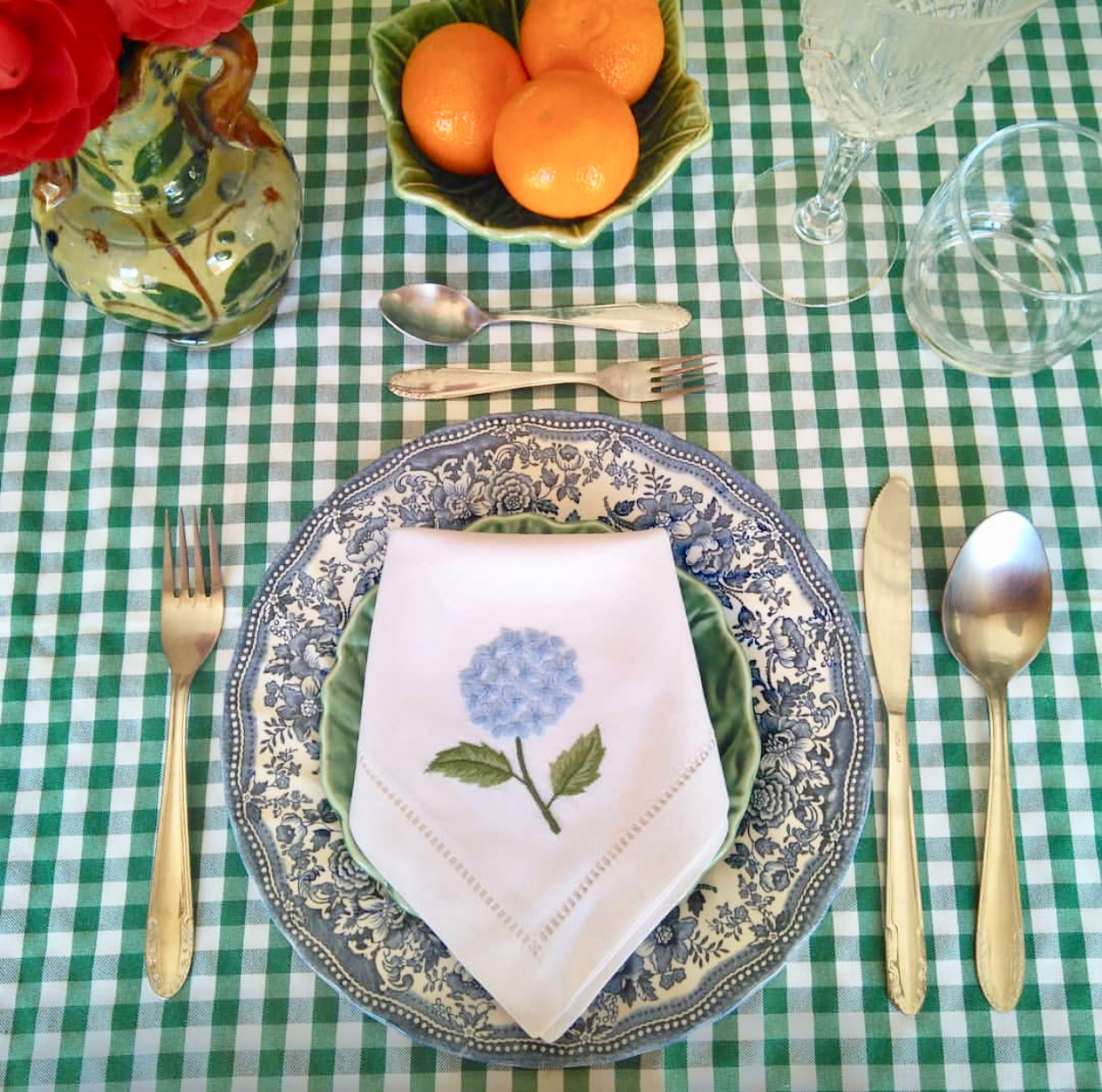 Gloria Gonzalez tablesetting bonadea napkin