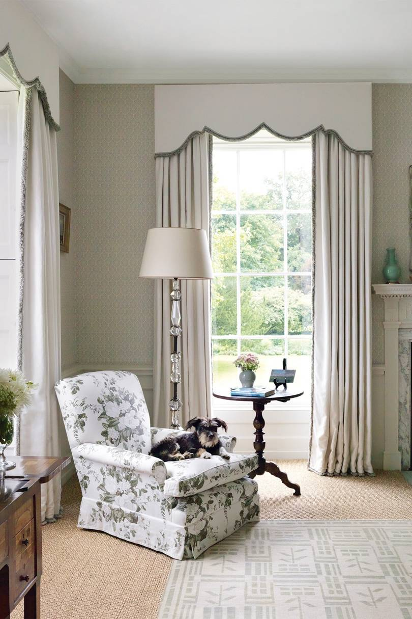 A country house in Norfolk by Veere Grenney.