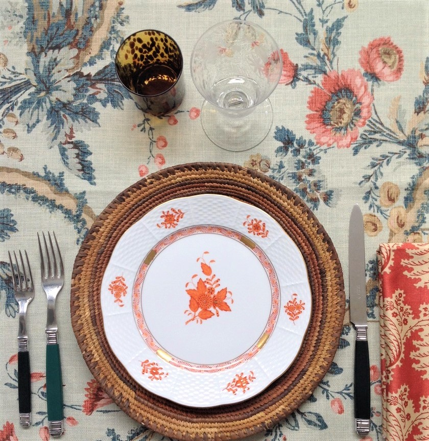 Pepa Yuste tablesetting
