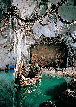 The grotto of Linderhof Castle