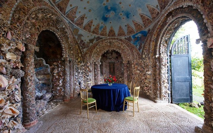 Hampton Court House Shell Grotto