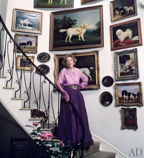 Brooke Astor dog paintings