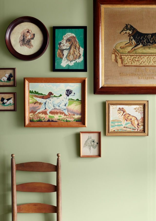 dog gallery wall