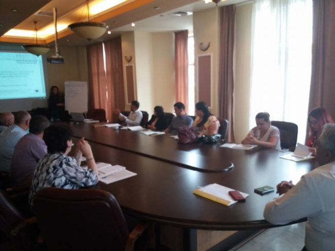 Regional Meeting with Local Action Groups on Roma