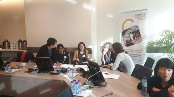 Workshop on trafficking in Roma children