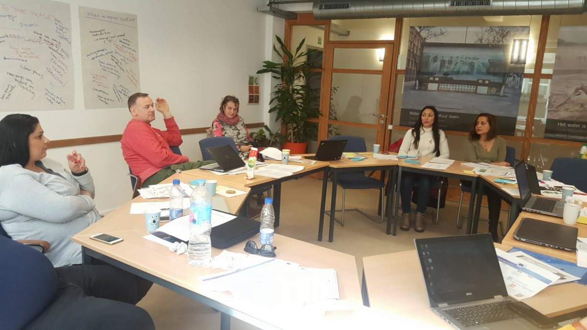 ERGO'S work and its partners continues in the NEW FRAMEWORK PARTNERSHIP AGREEMENT with EASI DG EMPL: 1st working meeting