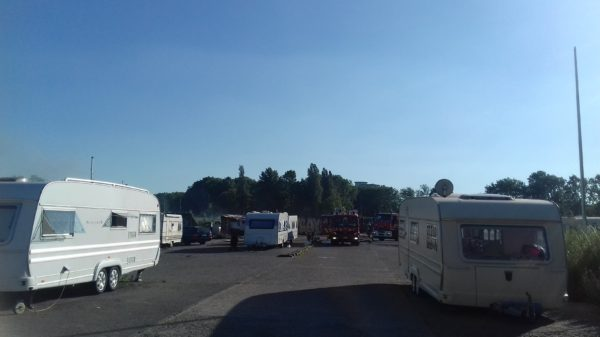 Evictions of Roma Travelers in Brussels