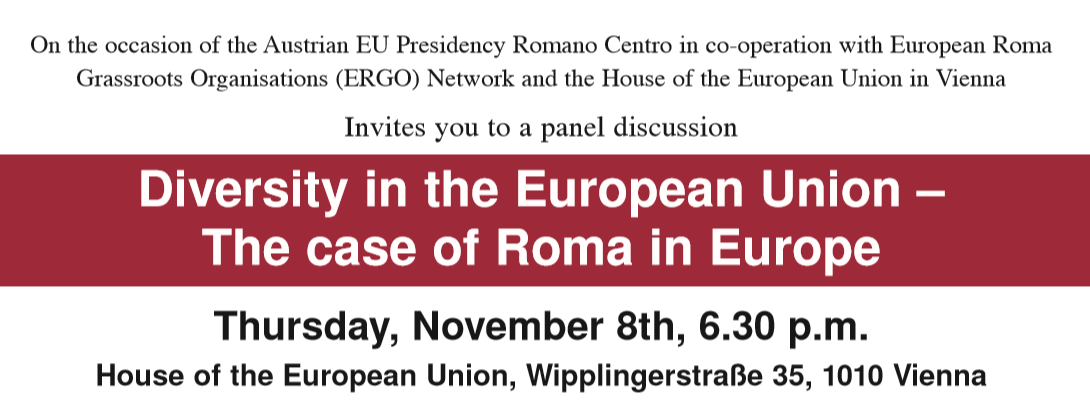 Diversity in the European Union – The case of Roma in Europe