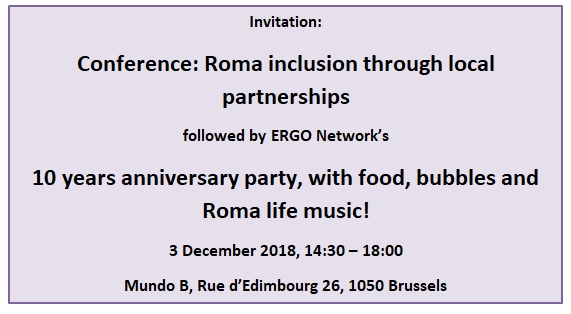 Registration: Conference & ERGO Network's 10 Years Anniversary Party