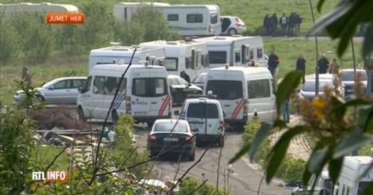 Police action against Roma Travellers community in Belgium