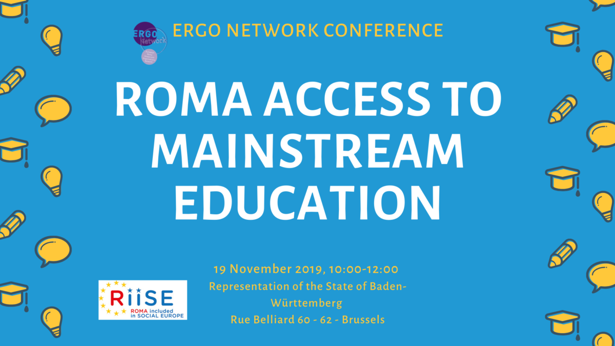 ERGO conference on education, 19 November