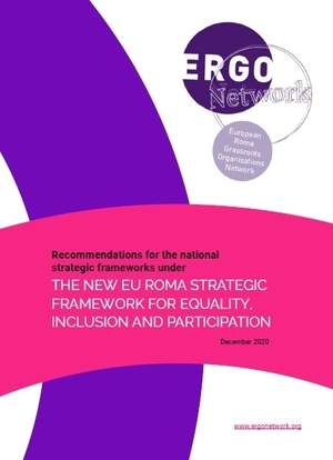 Recommendations for national strategic Roma frameworks