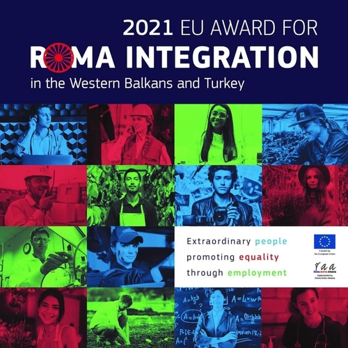 EU Award for Roma Integration in the Western Balkans and Turkey, 2021