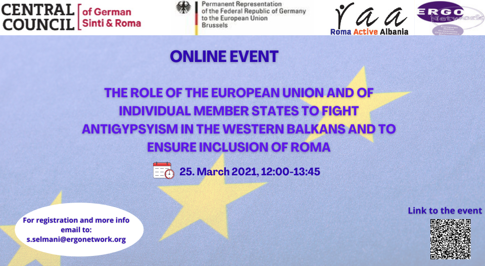 Conference on fighting antigypsyism in the Western Balkans