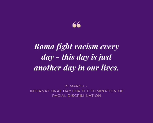 International Day for the Elimination of Racial Discrimination Statement