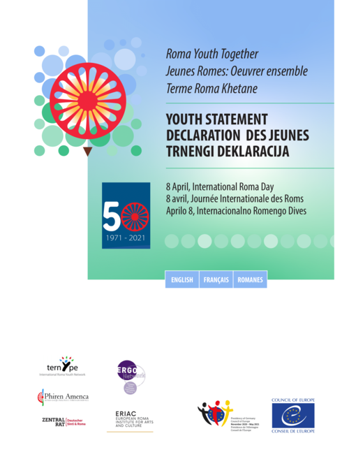 Youth Statement on the occasion of April 8 – International Roma Day 2021