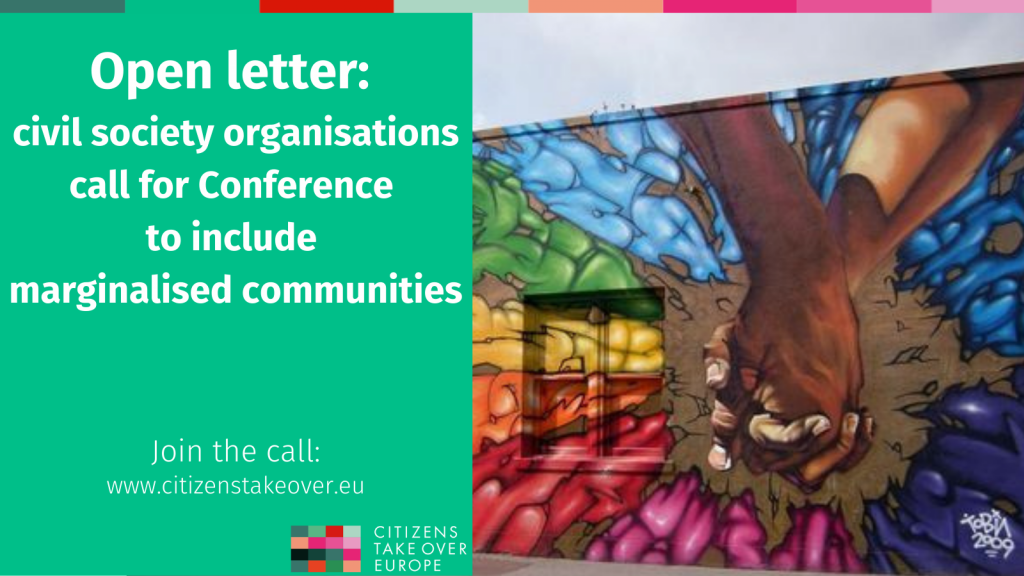 Conference on the Future of Europe: call to include marginalised communities