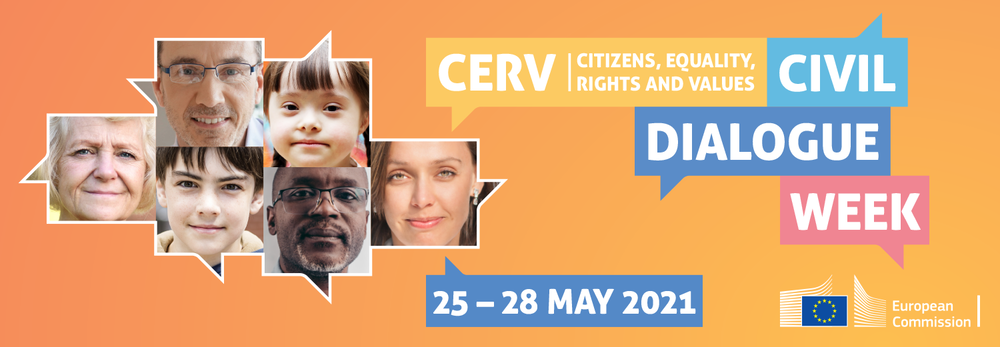 Citizens Equality, Rights and Values – ERGO participation in CERV dialogue week