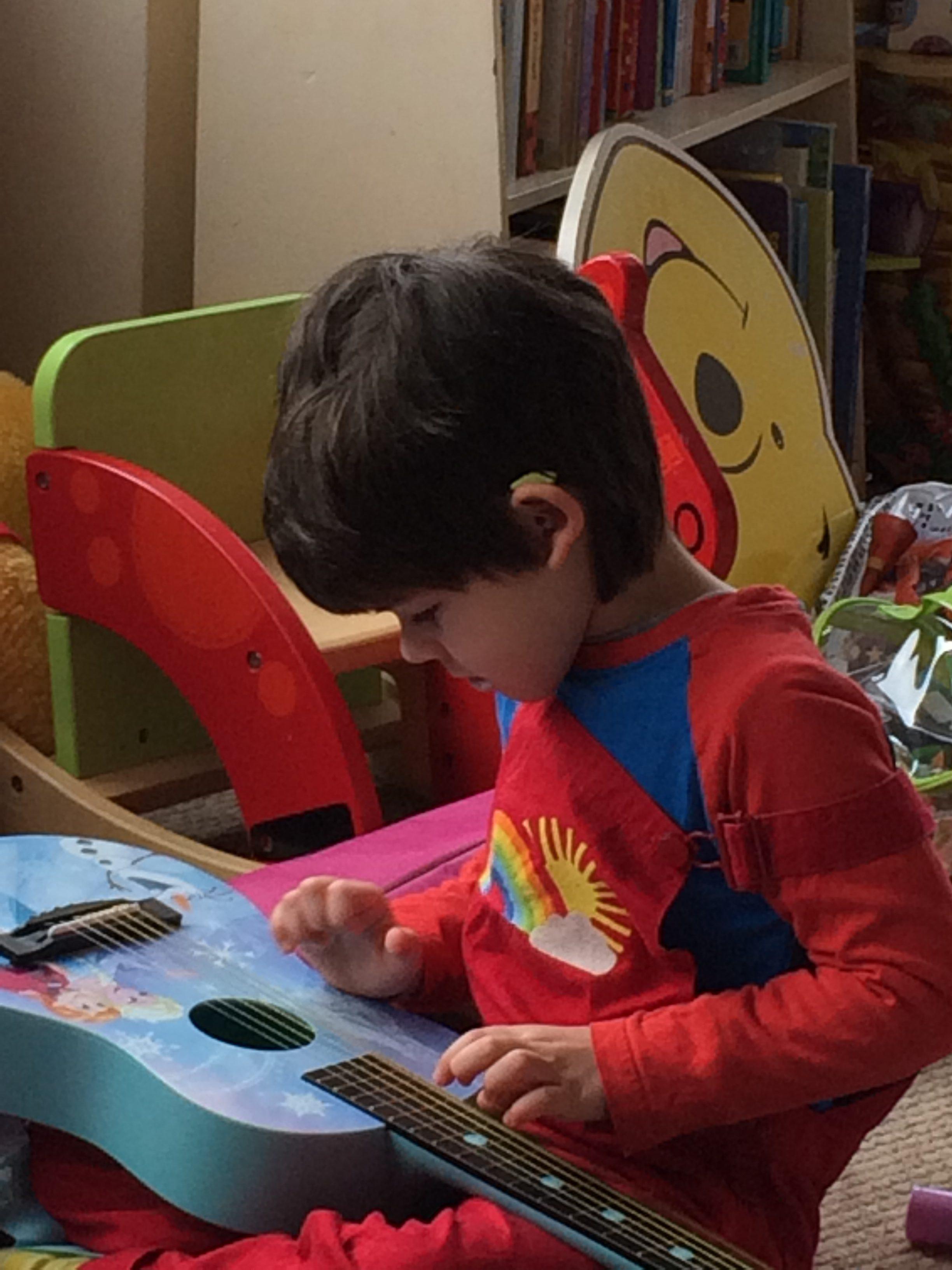 discrete hearing aid child