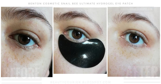 benton snail bee ultimate eye patches