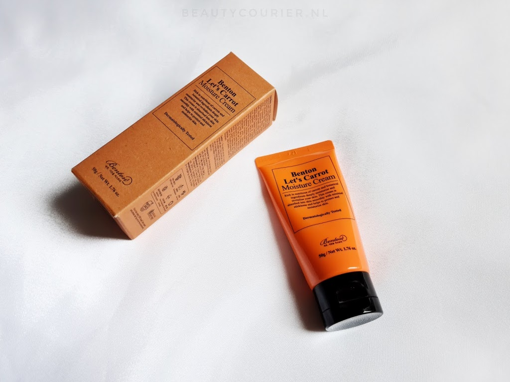 Benton – Let's carrot moisture cream