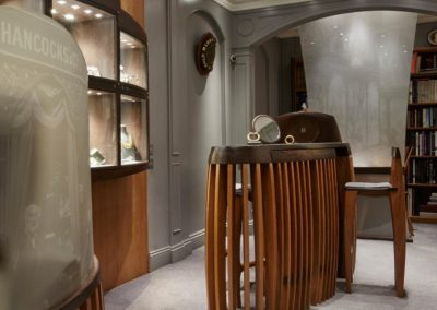 Overall view of the bespoke suite of contemporary furniture.  SASPOONER