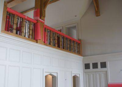 Lutyens Oak Staircase SASPOONER